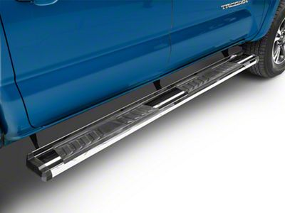 RedRock 4x4 S6 Running Boards - Stainless Steel (05-19 Tacoma Double Cab)