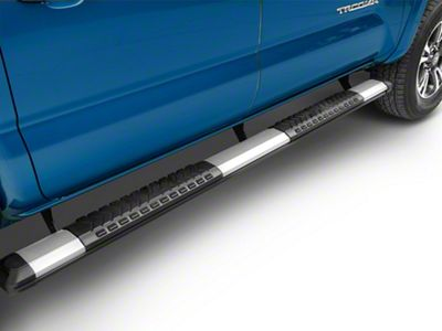 RedRock 4x4 Saber 5 in. Aluminum Side Step Bars (05-19 Tacoma Double Cab)