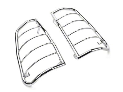 RedRock 4x4 Tail Light Guards - Stainless Steel (05-15 Tacoma)