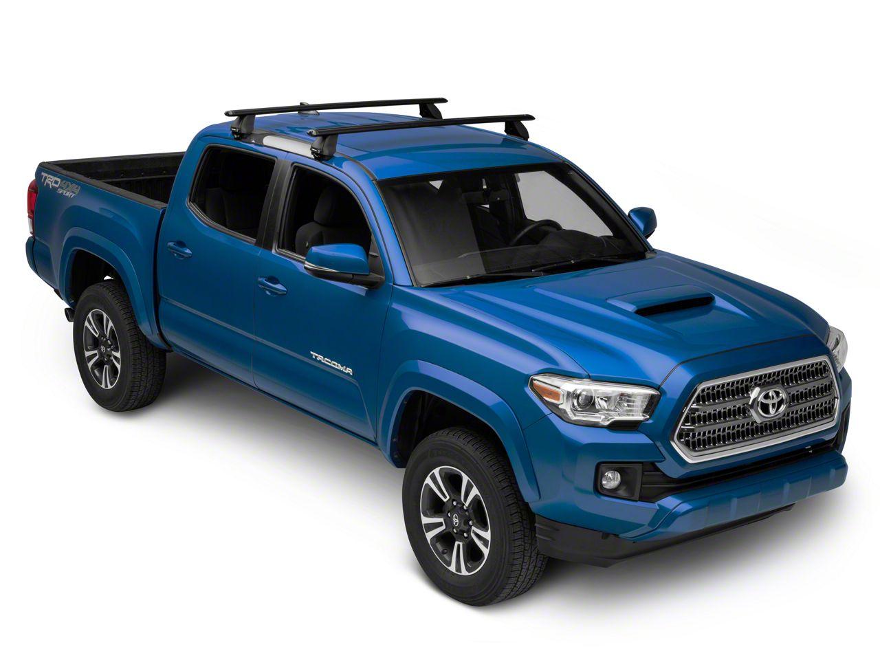 Rhino-Rack Vortex 2500 2-Bar Roof Rack - Black (05-19 Tacoma Double Cab)