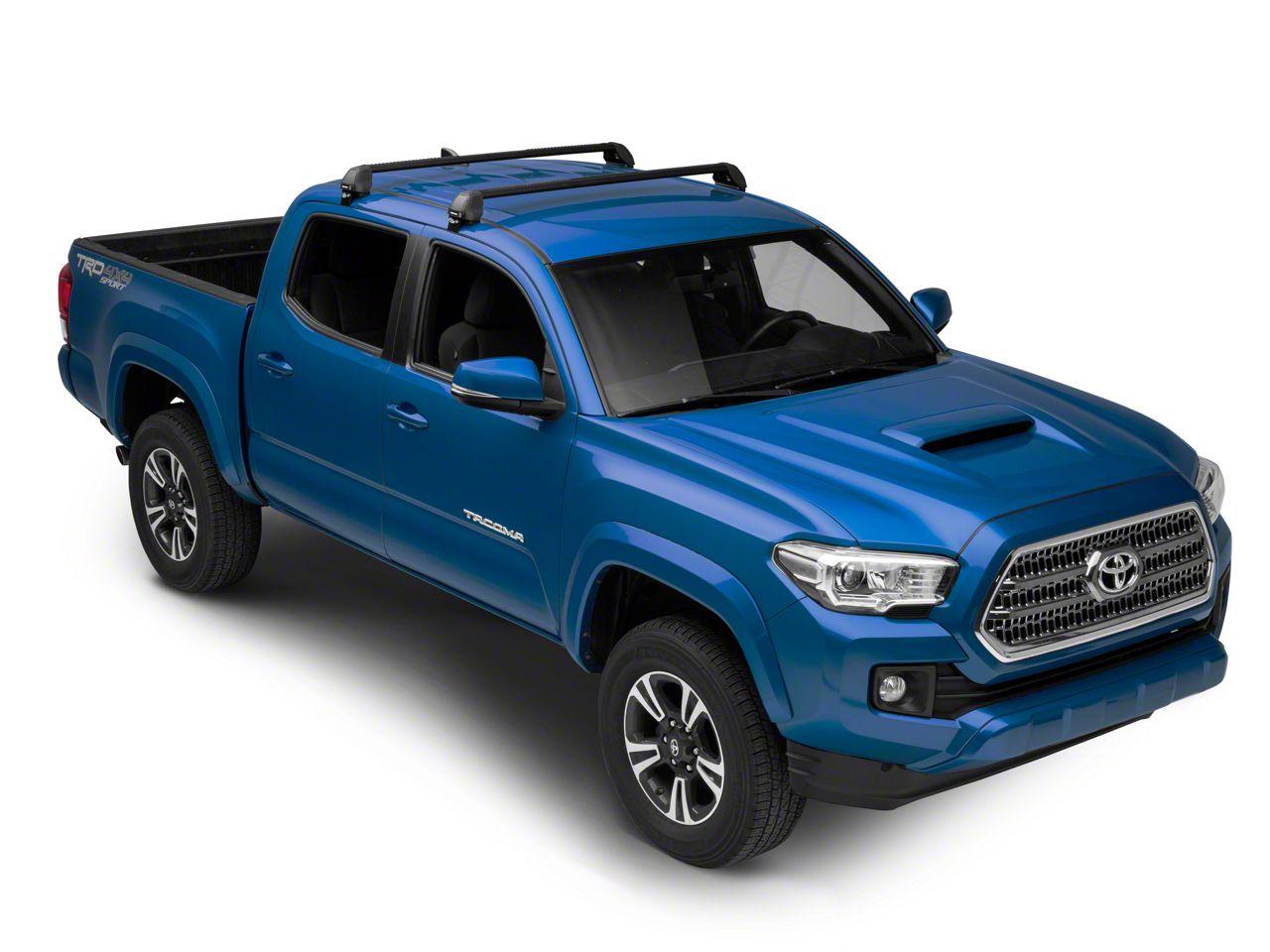 Rhino-Rack Vortex 2500 RS 2-Bar Roof Rack - Black (05-19 Tacoma Double Cab)