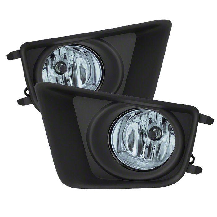Axial Smoked OE Style Fog Lights (12-15 Tacoma)