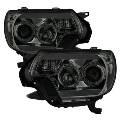 Axial Smoke Projector Headlights w/ Daytime Running Light (12-15 Tacoma)