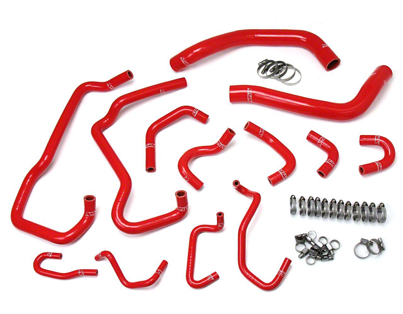 HPS Silicone Radiator Coolant & Heater Hose - Red (16-19 3.5L Tacoma)