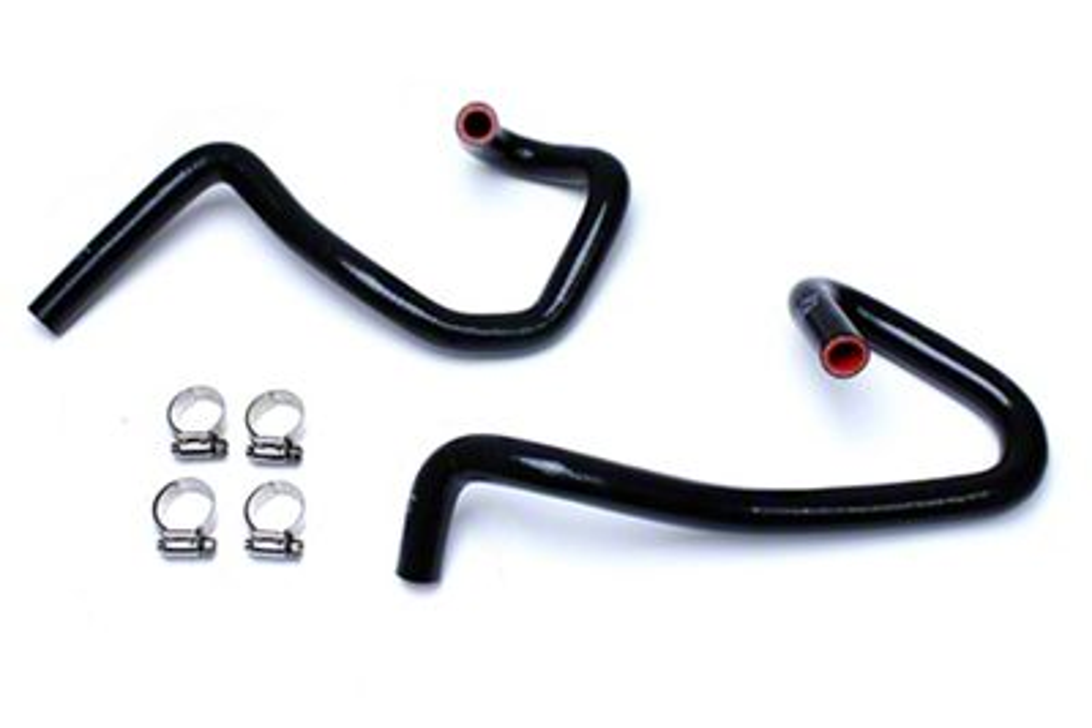 HPS Silicone Heater Hose - Black (05-16 2.7L Tacoma)