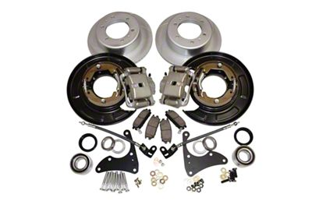 Pedders Drum to Disc Rear Brake Conversion Kit (05-19 Tacoma)