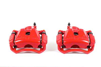 Power Stop Performance Front Brake Calipers - Red (05-19 Tacoma)