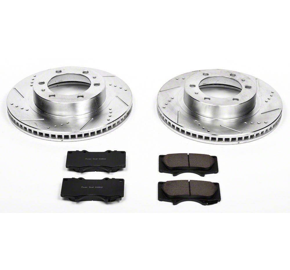 Power Stop Z23 Evolution Sport 6-Lug Brake Rotor & Pad Kit - Front (05-19 Tacoma)