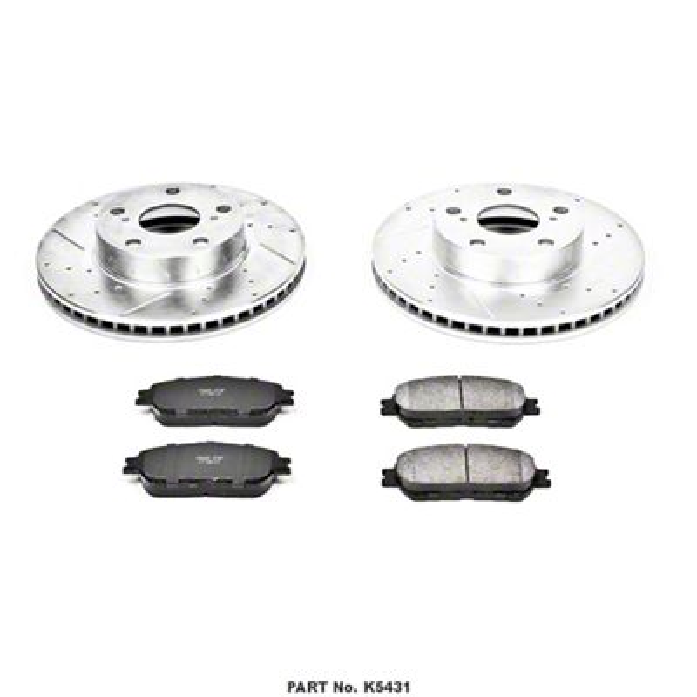 Power Stop Z23 Evolution Sport 5-Lug Brake Rotor & Pad Kit - Front (05-15 Tacoma)