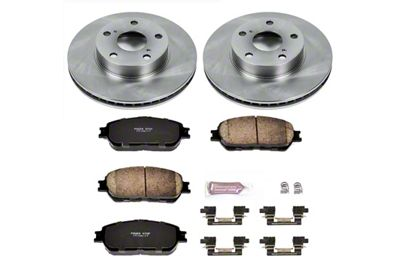 Power Stop OE Replacement 5-Lug Brake Rotor & Pad Kit - Front (05-15 Tacoma)