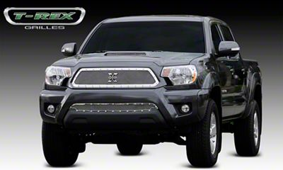T-REX X-Metal Series Upper Grille Insert - Polished (12-15 Tacoma)