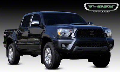 T-REX Stealth Metal Series Upper Grille Insert - Black (12-15 Tacoma)