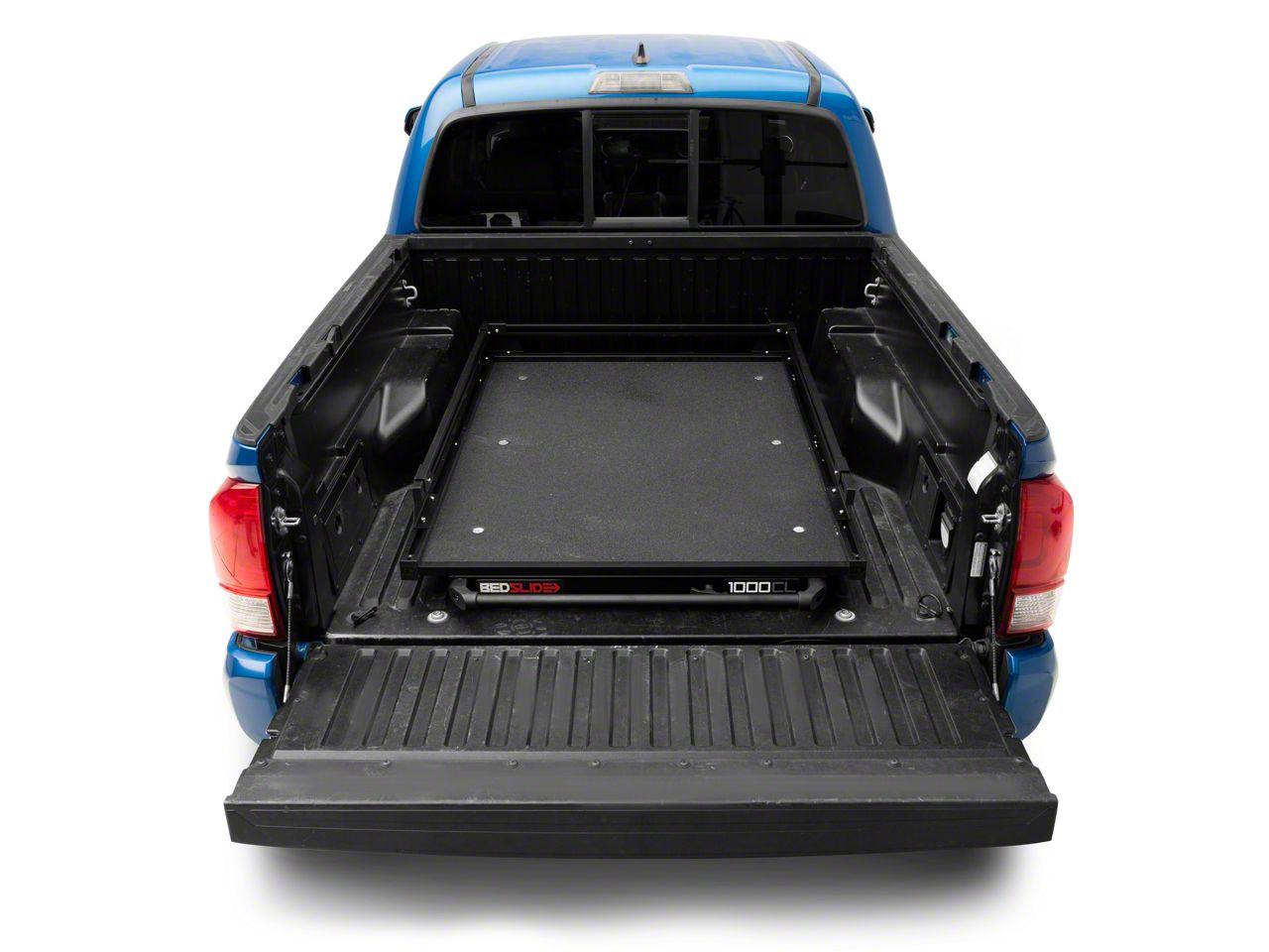 Bedslide 1000 Classic Bed Cargo Slide - Black (05-19 Tacoma)