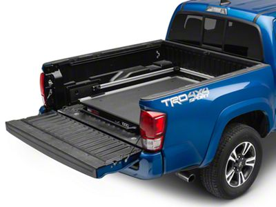 Bedslide 1000 Classic Bed Cargo Slide - Silver (05-19 Tacoma)