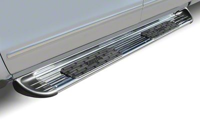 Raptor Series 7 in. SSR Stainless Steel Running Boards - Polished (05-19 Tacoma Double Cab)