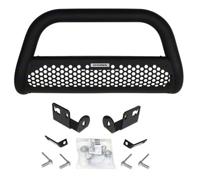 Go Rhino Charger RC2 Bull Bar - Textured Black (05-15 Tacoma, Excluding TRD)