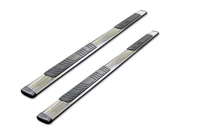 Go Rhino 5 in. OE Xtreme Low Profile Side Step Bars - Stainless Steel (05-19 Tacoma Double Cab)