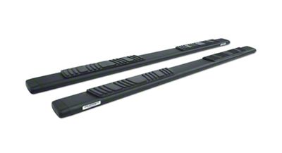Go Rhino 5 in. OE Xtreme Low Profile Side Step Bars - Textured Black (05-19 Tacoma Double Cab)