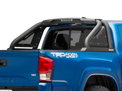 Go Rhino Sport Bar 2.0 Roll Bar w/ Power Actuated Retractable Light Mount - Textured Black (16-19 Tacoma)