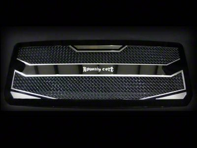 Royalty Core RC4 Layered Upper Replacement Grille - Black (05-11 Tacoma)