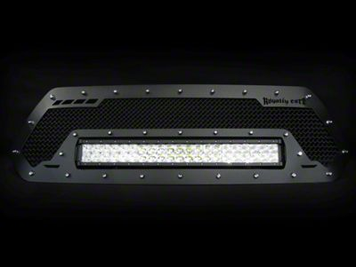 Royalty Core RCRX Race Line Upper Replacement Grille w/ 23 in. LED Light Bar - Black (16-19 Tacoma)