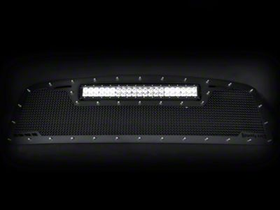 Royalty Core RCRX Race Line Upper Replacement Grille w/ Top Mounted 23 in. LED Light Bar - Black (16-19 Tacoma)