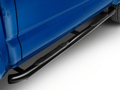 Steel Craft 3 in. Blackout Series Side Step Bars (05-19 Tacoma Double Cab)