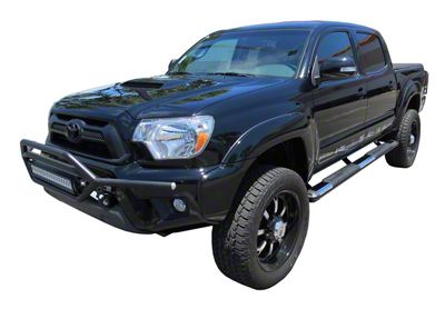 Steel Craft STX400 Aluminum Step Boards - Stainless Steel (05-19 Tacoma Double Cab)