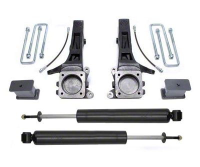 Max Trac 4 in. Suspension Lift Kit w/ Max Trac Shocks (05-19 2WD 6-Lug Tacoma)