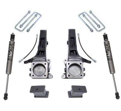 Max Trac 4 in. Suspension Lift Kit w/ Fox Shocks (05-19 2WD 6-Lug Tacoma)