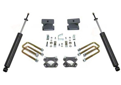 Max Trac 4 in. Rear Lift Kit w/ Max Trac Shocks (05-19 2WD 6-Lug Tacoma)