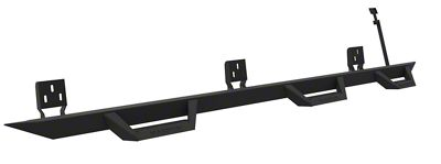 ICI Magnum RT Wheel to Wheel Side Step Bars - Black (05-19 Tacoma Double Cab w/ 6 ft. Bed)