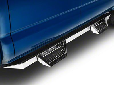 ICI Magnum RT Cab Length Side Step Bars - Stainless Steel (05-19 Tacoma Double Cab)