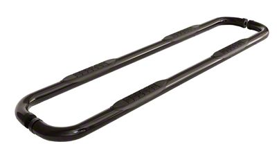 ICI 3 in. Round Cab Length Side Step Bars - Black (05-19 Tacoma Double Cab w/ 5 ft. Bed)