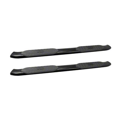 Westin Pro Traxx 5 in. Oval Side Step Bars - Black (05-19 Tacoma Double Cab)