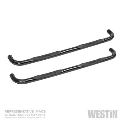 Westin E-Series 3 in. Nerf Side Step Bars - Black (05-19 Tacoma Access Cab)