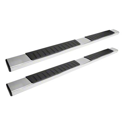 Westin R7 Nerf Side Step Bars - Stainless Steel (05-19 Tacoma Double Cab)