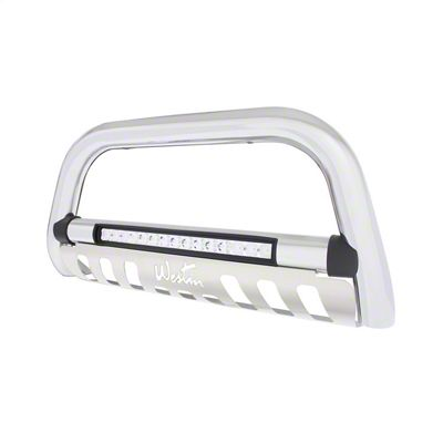 Westin Ultimate LED Bull Bar - Chrome (16-19 Tacoma)