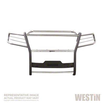Westin Sportsman Winch Mount Grille Guard - Stainless Steel (16-19 Tacoma)