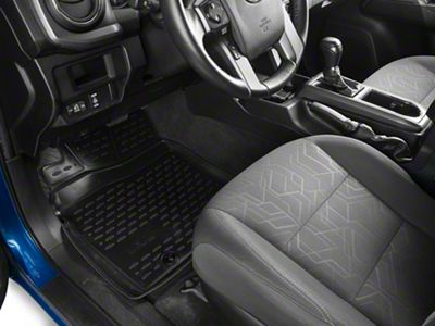 Westin Profile Front Floor Liners - Black (12-19 Tacoma Double Cab)