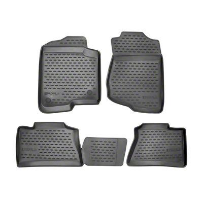 Westin Profile Front & Rear Floor Liners - Black (12-19 Tacoma Double Cab)