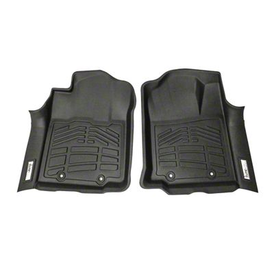 Wade Sure-Fit Front Floor Liners - Black (12-15 Tacoma)