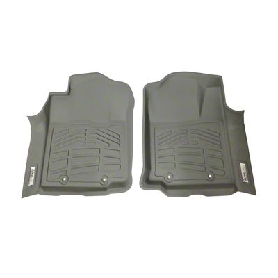 Wade Sure-Fit Front Floor Liners - Gray (12-15 Tacoma)