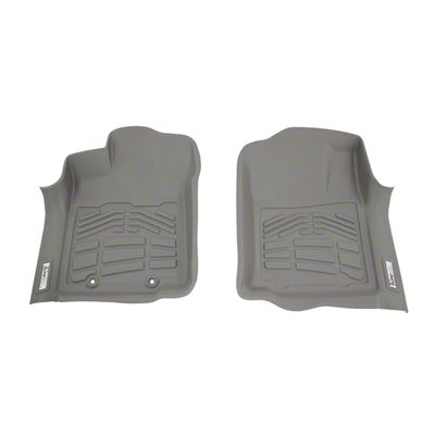 Wade Sure-Fit Front Floor Liners - Gray (16-19 Tacoma)