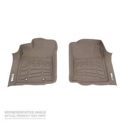 Wade Sure-Fit Front Floor Liners - Tan (05-11 Tacoma)