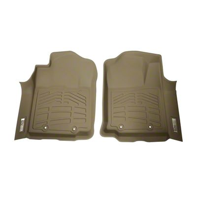 Wade Sure-Fit Front Floor Liners - Tan (12-15 Tacoma)