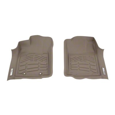 Wade Sure-Fit Front Floor Liners - Tan (16-19 Tacoma)