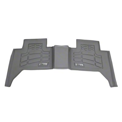 Wade Sure-Fit 2nd Row Floor Liner - Gray (05-19 Tacoma Double Cab)