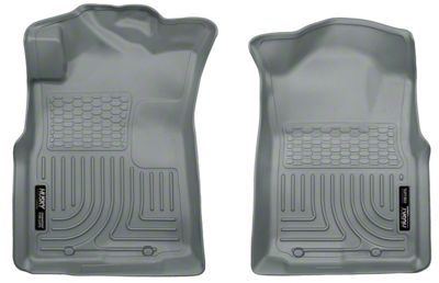 Husky WeatherBeater Front Floor Liners - Gray (05-15 Tacoma)