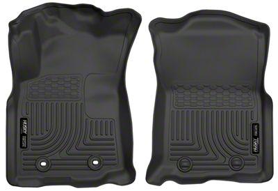 Husky WeatherBeater Front Floor Liners - Black (16-17 Tacoma)
